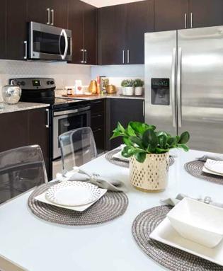 Waterton Properties apartment kitchen